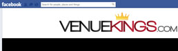 Venue Kings on Facebook